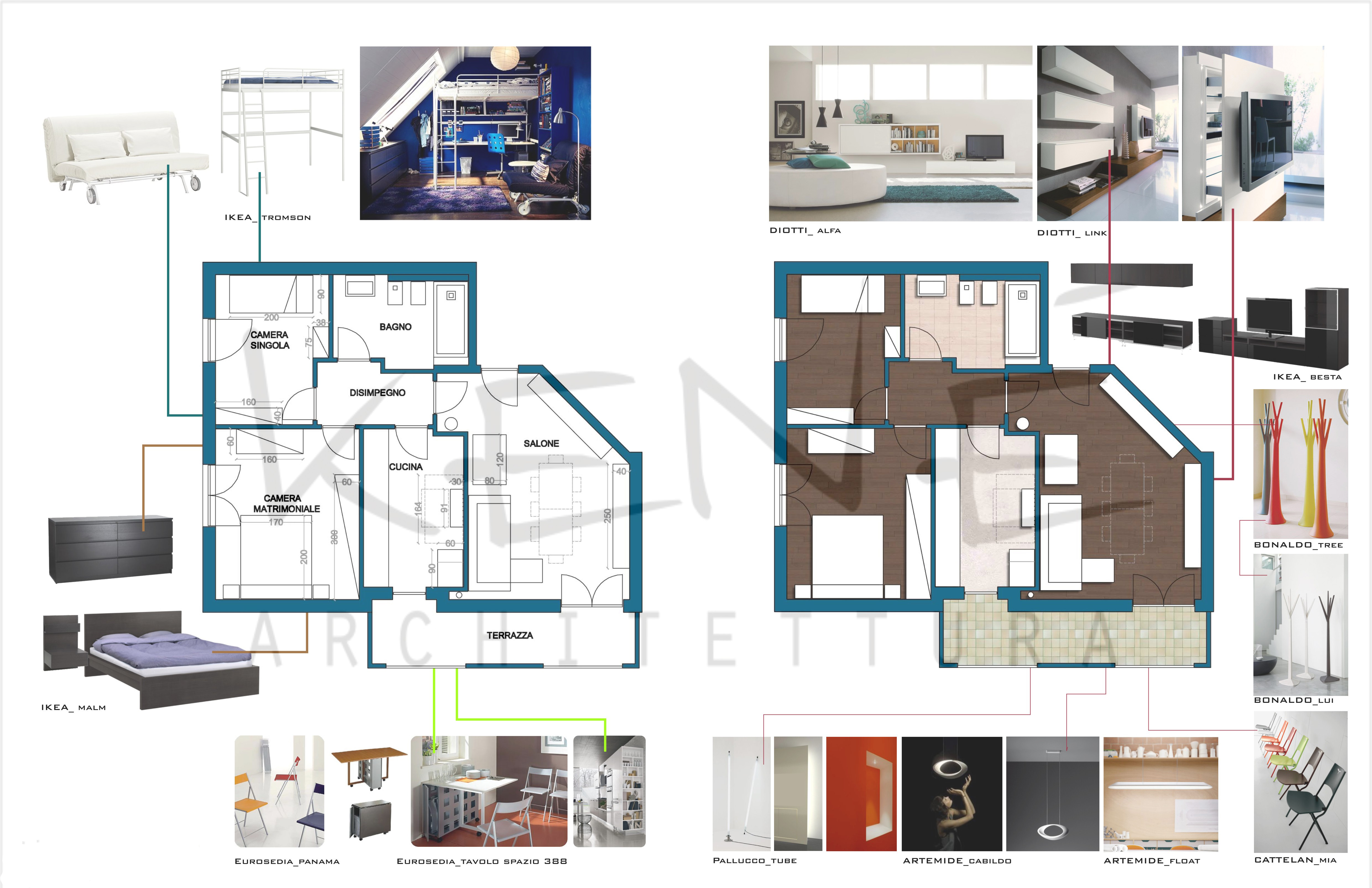 Interior design touch studio ken for Pianificatore di layout di casa